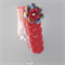 crochet girl headband | bright pink & flower| gift | toddler | baby 3-18 months