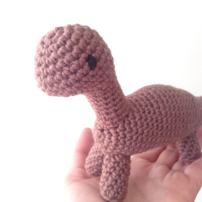 Crochet Dino Brachiosaurus Ditto Crafts Madeit