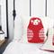 Babushka Screen Printed Cushion Cover in Red