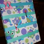 'Pretty Owls' Hair Clip Board / Hair Clip Tidy / Hair Clip Organiser