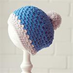 pom pom beanie | crochet wool | baby boy