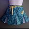 'Yellow Daisies' Pleated Skirt