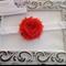 Shabby Flower Headband. Made to size