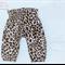 Leopard Print High Waist Harem pant baby girl