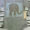 Baby Boys Long Sleeve Elephant Onesie - Grey Sizes 000, 00 & 0