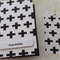 Swiss Cross Card and Gift Tag - Happy Birthday