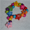 Children's Wooden Colourful Star Bracelet - Great Birthday Gift!
