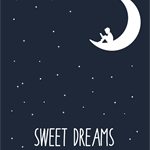Boys Sweet Dreams- wall decor