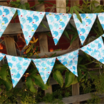 Elephant Bunting, flags or banner for child's bedroom, garden, birthday