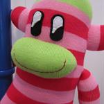 Haylo Long Sock Monkey - Watermelon