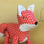 Fox softie - Frankie