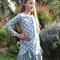 Grey Fox Polka Dot Winter Dress Girl's Size 10