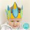 Felt Feather Headpiece - Feather Crown - Feather Headband