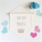 Baby Nursery Wall Hanging | Banner | Our Tiny Princess