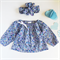 Peasant top 12-18 months | matching head wrap