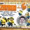 Minion Invitation Birthday Invite Minion Personalized Custom Invitation