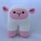 Crochet Cuddly Sheep Rattle