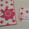 Pink Swiss Cross Card & Gift Tag