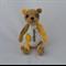 Crochet Thread Bear Yellow