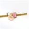 Flower Posy Headband - Peach, Gold, Pink, Glitter