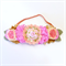 Felt Flower Crown - Peach, Pink, Gold - Glitter - Birthday Crown - Special
