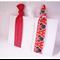 Elastic Hair Tie Yoga Set - adults, children - Minnie Mouse Red White ZBB