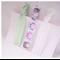 Elastic Hair Tie Yoga Set - adults, children - Pastel Owl Pink Purple White ZBB