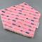 Bandana Dribble Bib - Arrows on Pink