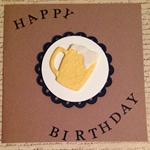Happy Bithday Beer Card