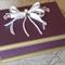 Keepsake Box - Burgundy & Gold