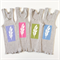 Fun Brightly Coloured Baby Singlets, Screen printed White Feather, size 00