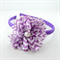 Girl's Headband - purple chevron
