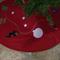 Christmas Tree Skirt  - 'DECK THE HALLS'