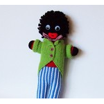 Hand Knitted Golliwog Toy