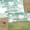 Digital Wedding Invitation - 'Love in in the Air'