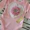 Baby Girls Pink Sweetheart Onesie Size 000, 00, 0 & 1