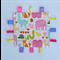 Pink Animals Tag Cuddly Blankie Comforter - Baby, Newborn, Toddler