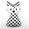 Monochrome Fox Rattle White Black Spots