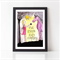True Friends Share Everything A4 Girl's Bedroom Print