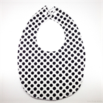 BUY 3 GET 4th FREE Black and White Spots Bib