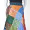 Patch Work Magic Silk Reversible Boho Bohemian Hippie Gypsy Style Skirt