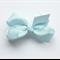 Hayley - Blue bow clip
