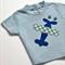 Plane appliqued toddler boys t-shirt