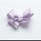 Hayley - purple bow clips