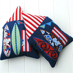 2 x Beach House cushions FREE POSTAGE