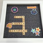 Scrabble Tile Frame