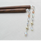 Crystal Cascade Hair Sticks Swarovski Crystal Pearls Czech Glass Beads Sparkly