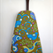 Ironing Board Cover - large pretty floral birds in blue purple and green