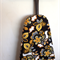 Ironing Board Cover - bold yellow, black and white flowers