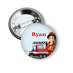 Fireman Name badge - add your text
